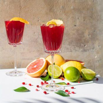 Image du cocktail Miss Terroir et ses fruits